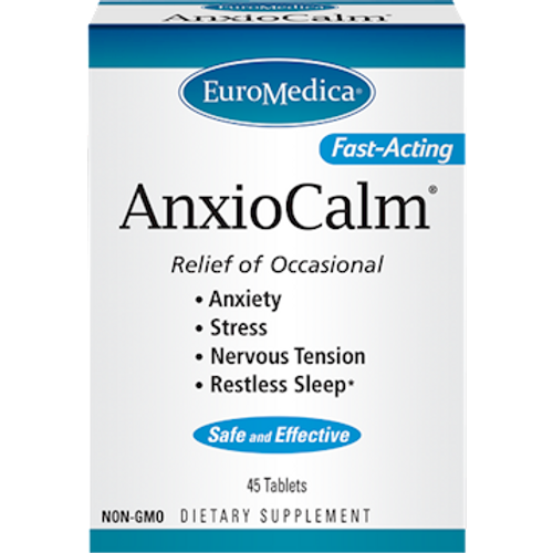 AnxioCalm by EuroMedica 45 tablets