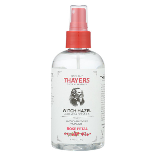 Thayers - Witch Hazel Facial Mist - Rose Petal - 8 Fz