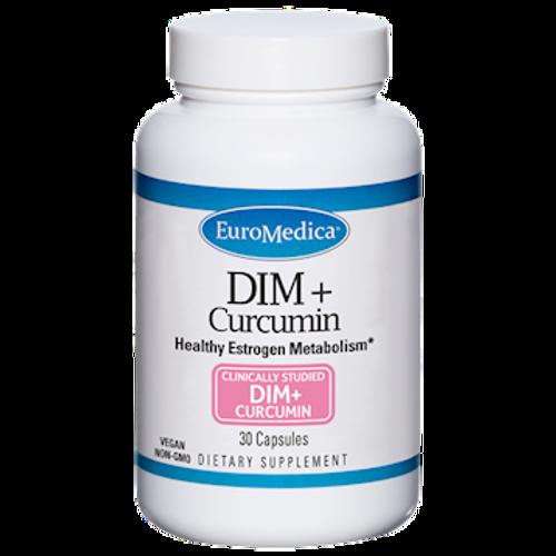 DIM + Curcumin by EuroMedica 30 capsules