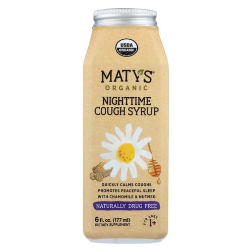 Maty's - Organic Nighttime Cough Syrup - 6 Fl Oz.