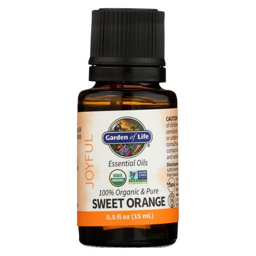Garden Of Life - Essential Oil Orange - .5 Fz