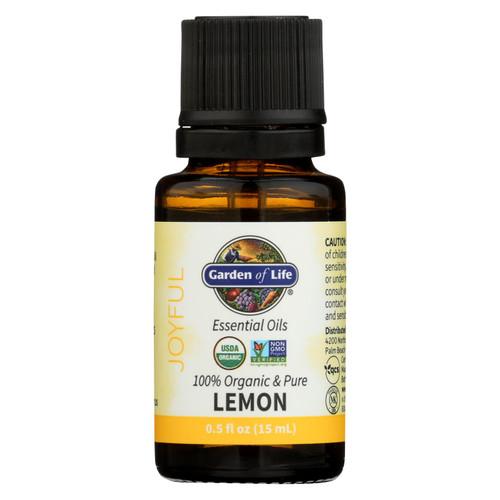 Garden Of Life - Essential Oil Lemon - .5 Fz