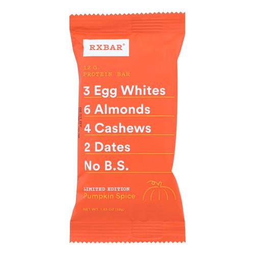 Rxbar - Protein Bar - Pumpkin Spice - Case Of 12 - 1.83 Oz.