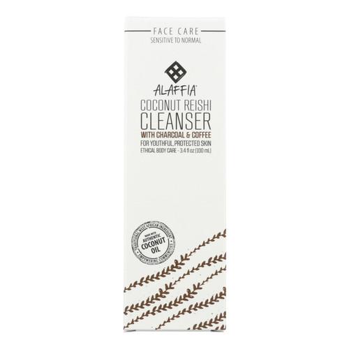 Alaffia - Facial Cleanser - Coconut Reishi - 3.4 Fl Oz.