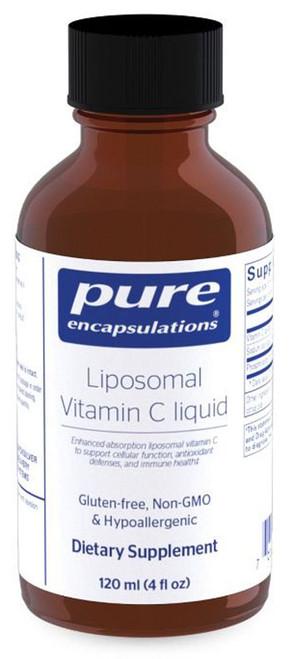 Liposomal Vitamin C liquid by Pure Encapsulations 4 oz
