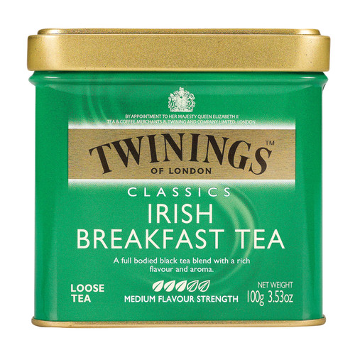 Twining's Tea - Irish Breakfast - Case Of 6 - 3.53 Oz.