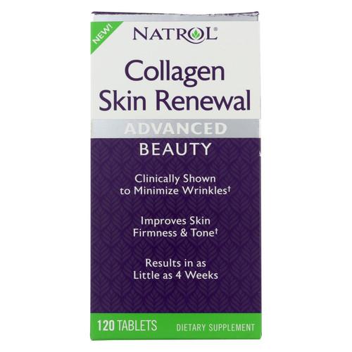 Natrol - Collagen Skin Renewal - 1 Each - 120 Tab