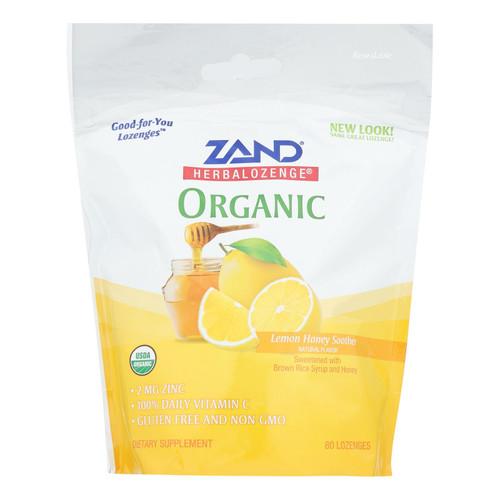 Zand - Loz Lemon Honey - 1 Each - 80 Ct