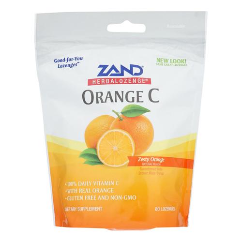Zand - Lozenge Orange C - 1 Each - 80 Ct