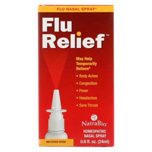 Natrabio Flu Relief Nasal Spray  - 1 Each - .8 Oz