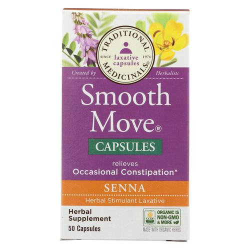 Traditional Medicinals - Smooth Mv Caps Senna - 50 Cap