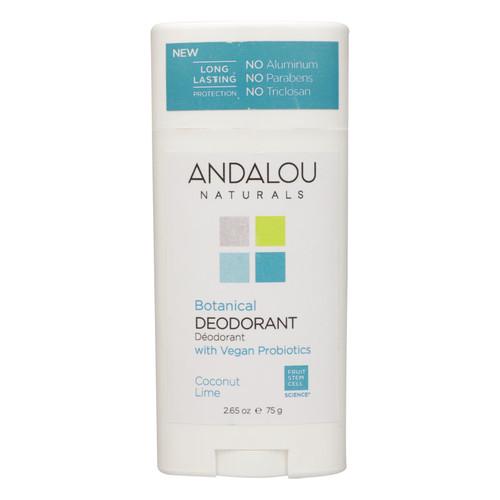 Andalou Naturals - Deodorant Vgn Pro Coconut Lime - 1 Each - 2.65 Oz