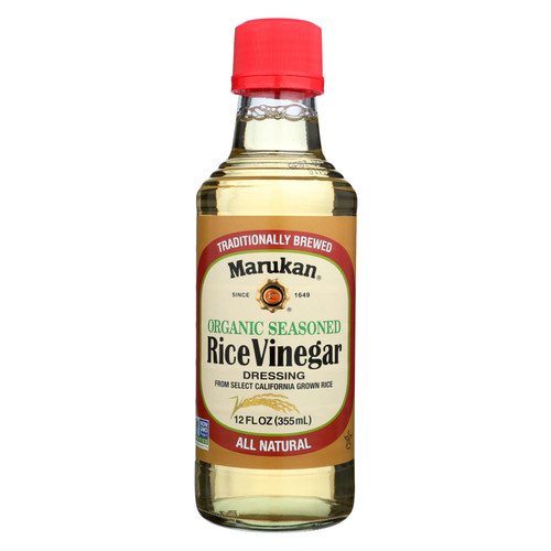 Marukan Rice Vinegar Dressing - Case Of 6 - 12 Fz
