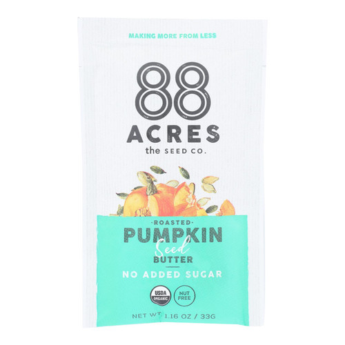88 Acres - Butter Seed Pumpkin Sugar Free - Case Of 10 - 1.16 Oz