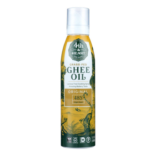 4th & Heart - Ghee/oil Original Spray - Case Of 6 - 5 Oz