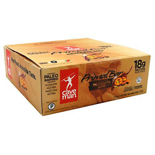 Caveman Foods Primal Bar Mesquite BBQ
