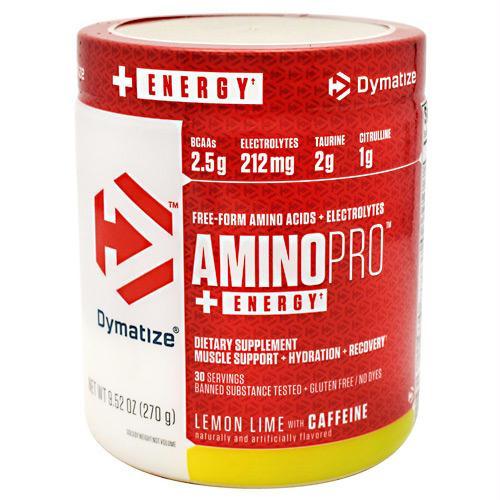 Dymatize AminoPro + Energy Lemon Lime - Gluten Free