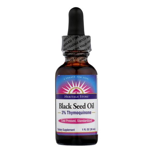 Heritage Store - Black Seed Oil - 1 Each - 1 Fz