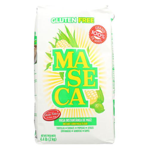 Maseca Gluten Free Instant Corn Masa Flour - Case Of 10 - 4.4 Lb