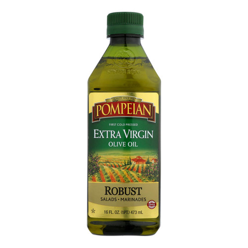 Pompeian Imported Extra Virgin Olive Oil - Case Of 12 - 16 Fz