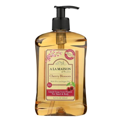 A La Maison - French Liquid Soap Cherry Blossom - 1 Each - 16.9 Fz