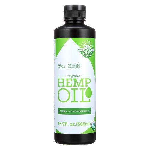 Manitoba Harvest Organic Hemp Oil  - 1 Each - 16.9 Fz
