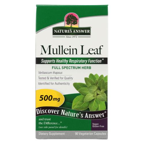 Nature's Answer Mullein Leaf Dietary Supplement  - 1 Each - 90 Sgel