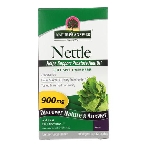 Nature's Answer - Nettle Leaf 900mg - 1 Each - 90 Cap