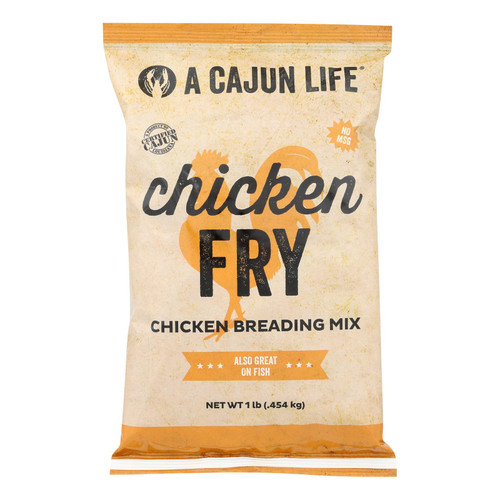 A Cajun Life Chicken Breading Mix - Case Of 6 - 1 Lb