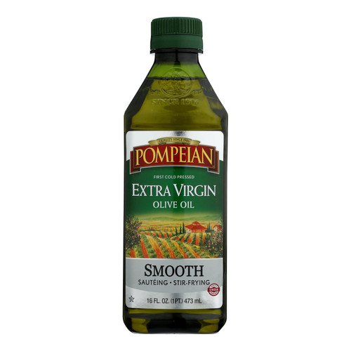 Pompeian - Olive Oil Xtra Vrgn Smth - Case Of 12 - 16 Oz