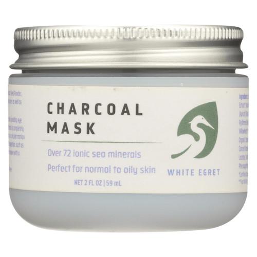 White Egret - Mask Charcoal - 1 Each - 2 Oz