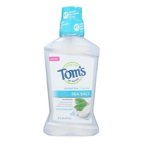 Tom's Of Maine - Mouthwash Sea Salt Mint - 1 Each - 16 Oz