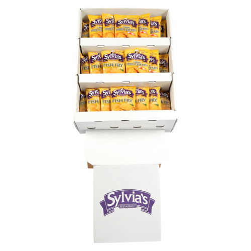 Sylvia's Fish Fry And Crispy Fried Chicken Mix  - Case Of 60 - 10 Oz