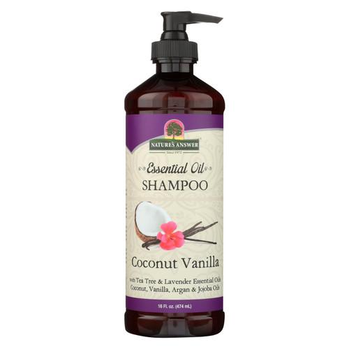Nature's Answer - Shampoo Ess Oil Coconut Vanilla - 1 Each - 16 Oz