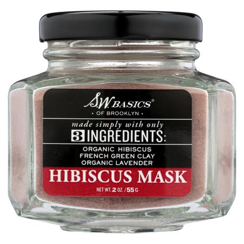 S.w. Basics - 3 Ingredients Hibiscus Mask - 2 Oz.