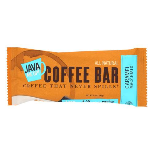 Java Me Up! Caramel Macchiato Coffee Bar  - Case Of 12 - 1.4 Oz