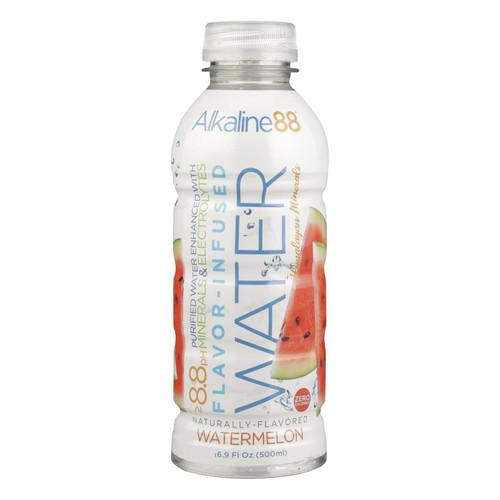 Alkaline88 - Water Alk Watermelon 8.8 Ph - Case Of 12 - 16.9 Fz