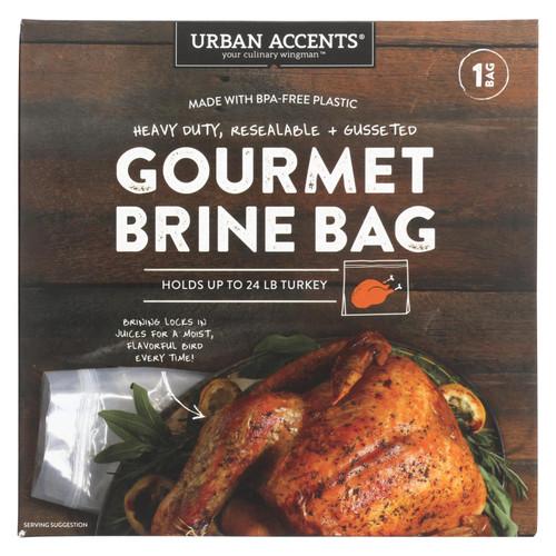 Urban Accents - Brine Bag Gourmet - Case Of 6 - 3.2 Oz