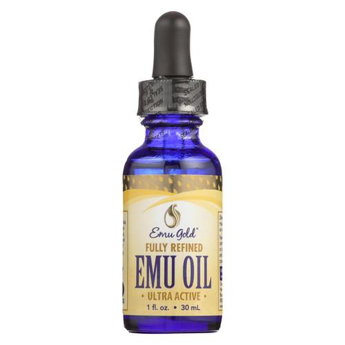 Emu Gold Fully Refined Ultra Active Emu Oil  - 1 Each - 1 Fz