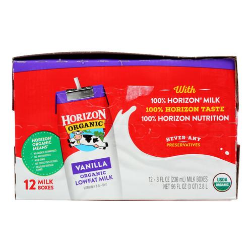Horizon Organic Dairy Lowfat Milk - 1 Each - 12/8 Fz