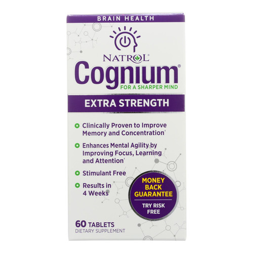 Natrol - Cognium Xtra Strgth 400mg - 1 Each - 60 Tab