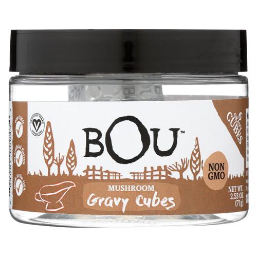 Bou - Gravy Cubes Mushroom 6 Ct - Cs Of 6-2.53 Oz