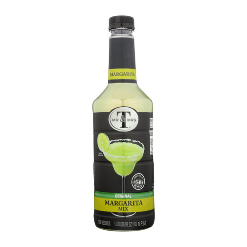 Mr & Mrs T - Cocktail Mix Margarita - Case Of 6 - 33.8 Fz