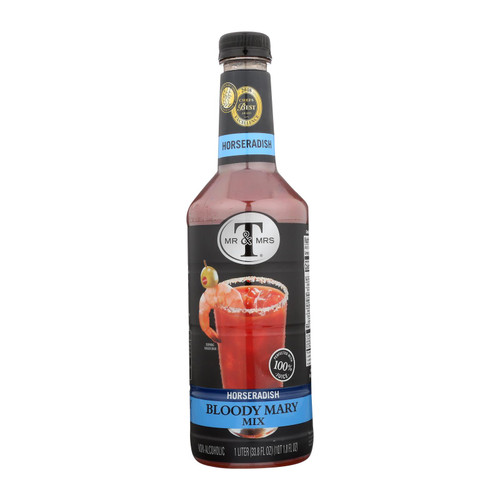 Mr And Mrs T Bloody Mary Mix - Case Of 6 - 33.8 Fz - 2297547