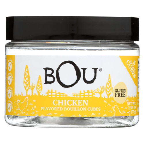 Bou - Bouillon Cube Chicken 6ct - Cs Of 6-2.53 Oz