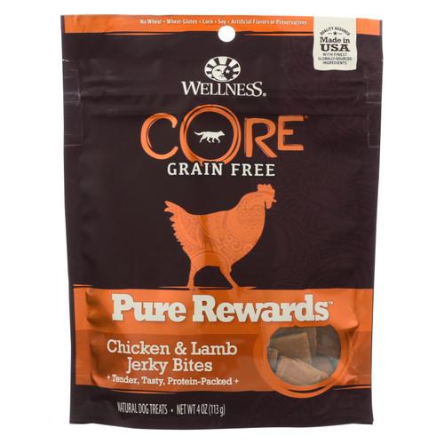 Wellness Pure Rewards Natural Dog Treats  - Case Of 8 - 4 Oz - 1923820