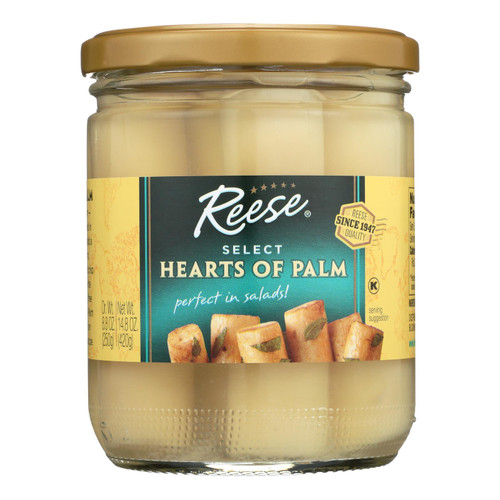 Reese Hearts Of Palm  - Case Of 12 - 14.8 Oz