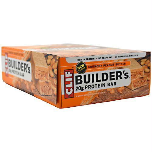 Clif Bar Builder's Protein Bar Crunchy Peanut Butter