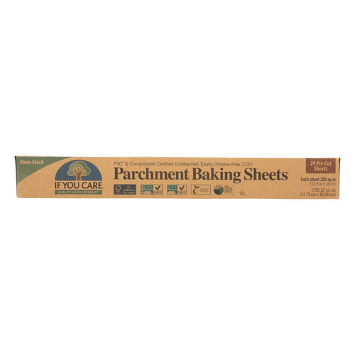 If You Care Baking Paper Sheets - 24 Count