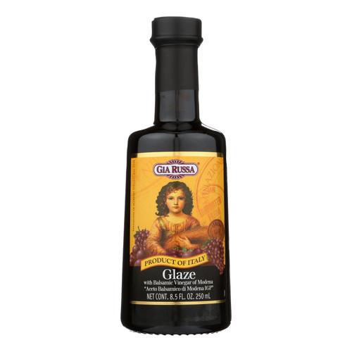 Gia Russa Balsamic Glaze Vinegar  - Case Of 6 - 8.5 Fz